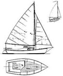 small wooden sailboat plans