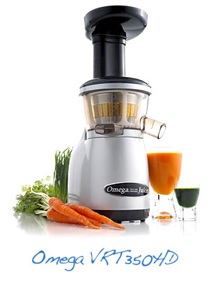 Omega VRT350HD juicer